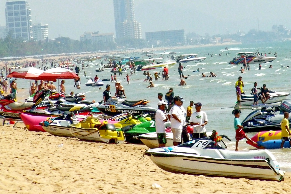 Ein cooler Tag am Jomtien Beach Pattaya